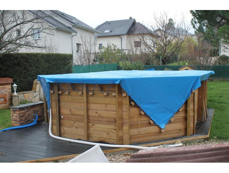 bache piscine 4 metre