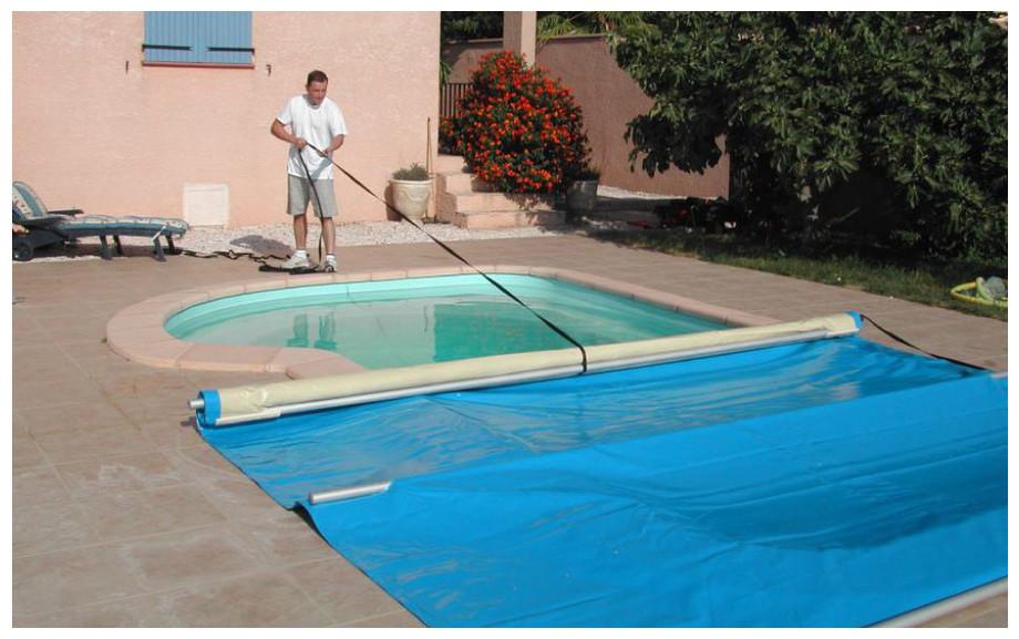 bache piscine 4 saisons occasion
