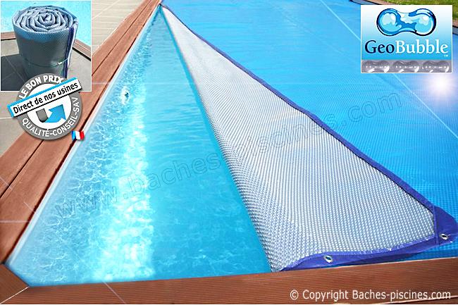 bache piscine 5x11