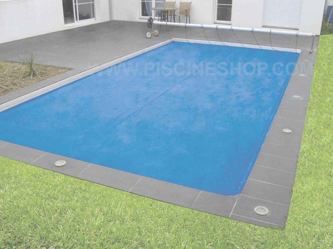 bache piscine 5x12