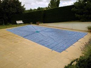 bache piscine 5×9