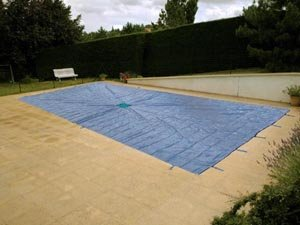 bache piscine 6x11