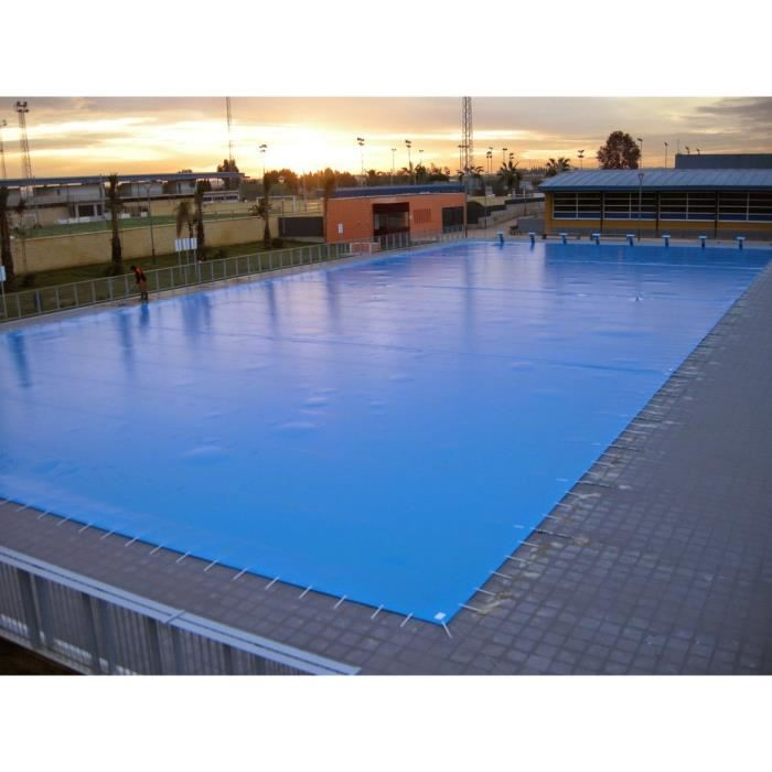 bache piscine 6x6