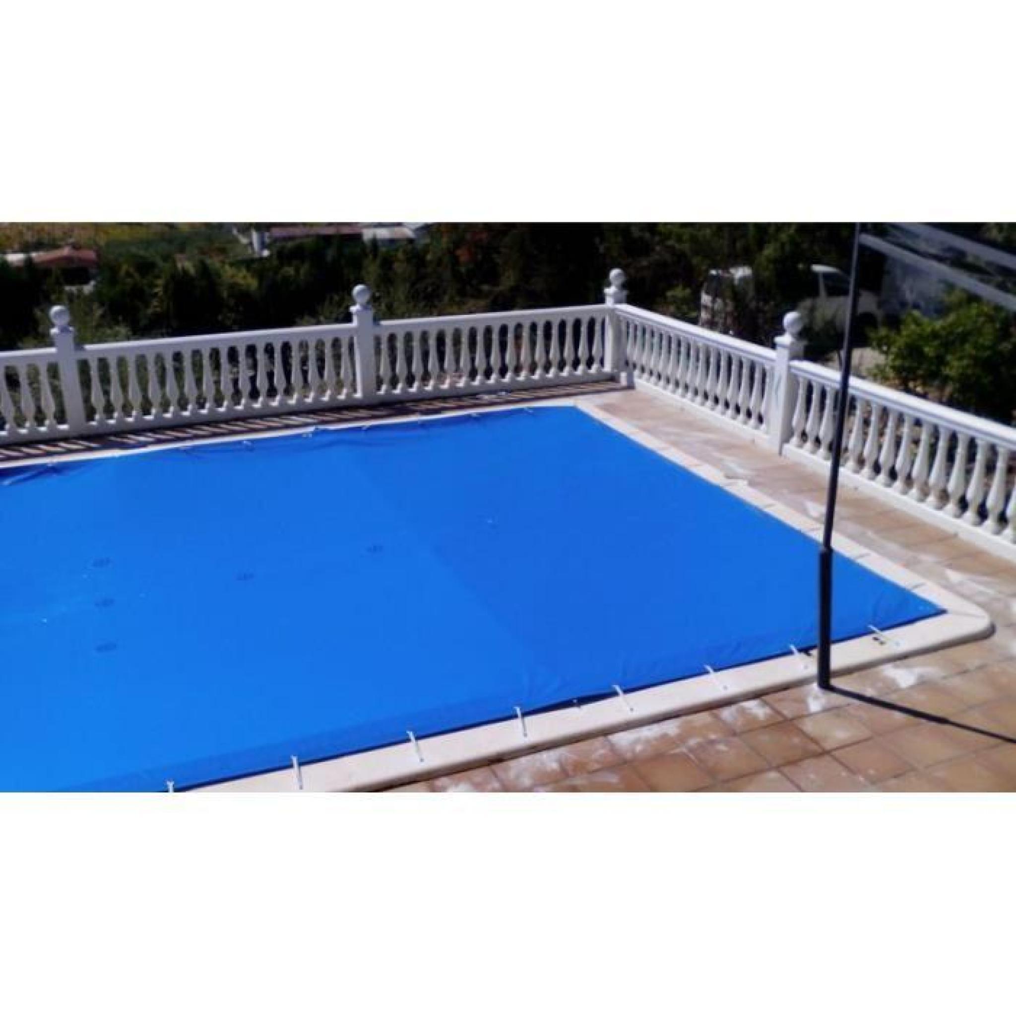 bache piscine 6x9