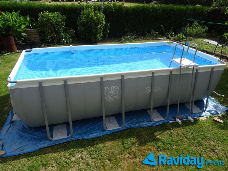 bache piscine 7.32