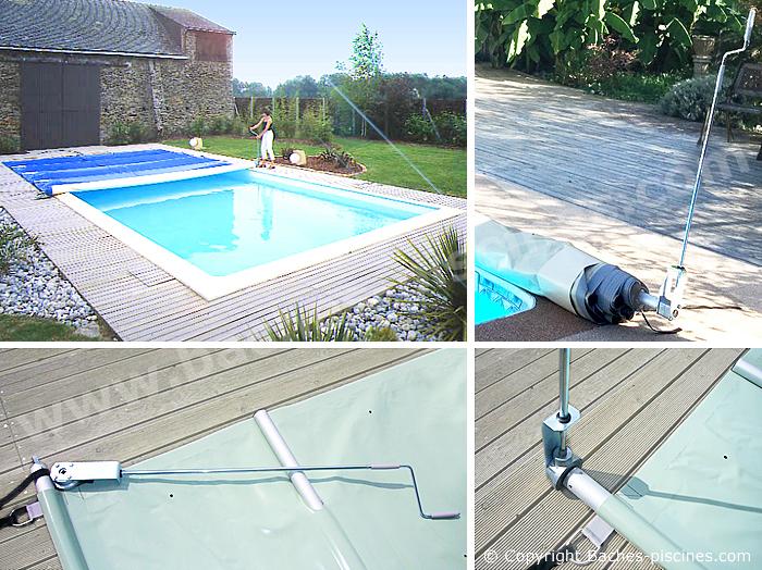 bache piscine 7×4