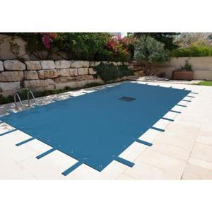 bache piscine 8x6