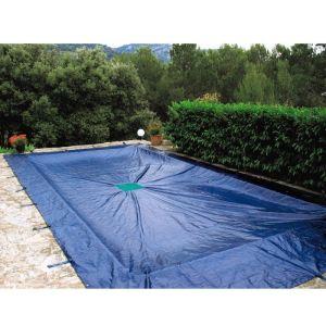 bache piscine 8x8