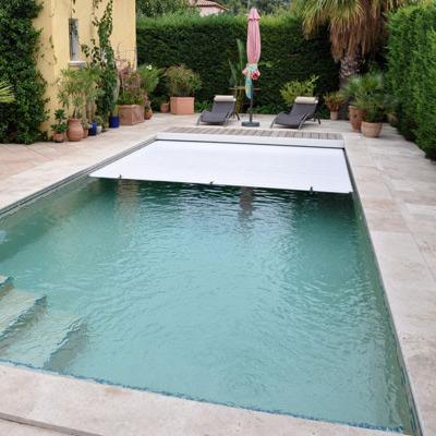 bache piscine 9×5