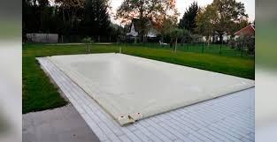 bache piscine a boudin d'eau