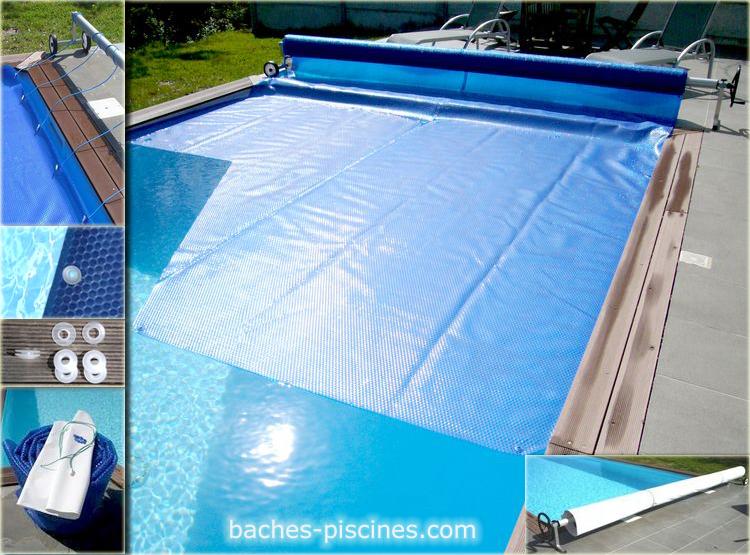 bache piscine a bulle