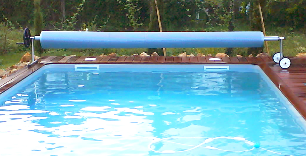 bache piscine avec enrouleur