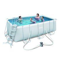 bache piscine bestway 412