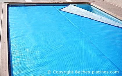 bache piscine bulle 500 alu geobubble