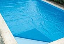 bache piscine bulle sens