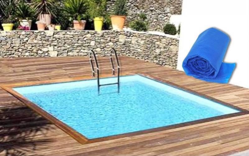 bache piscine carree