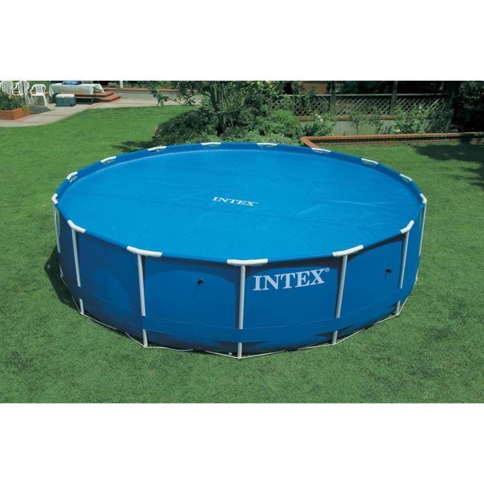 bache piscine diametre 2.44