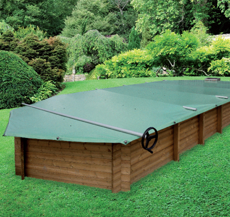 bache piscine en bois. Black Bedroom Furniture Sets. Home Design Ideas