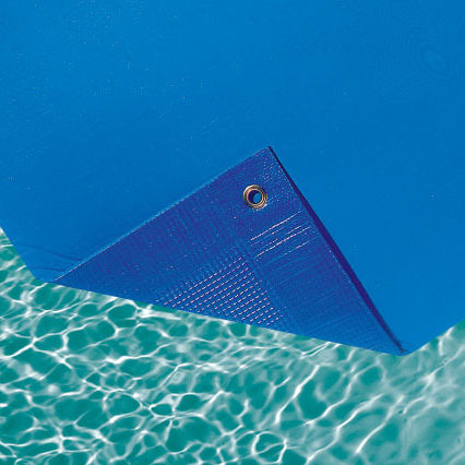 bache piscine en mousse