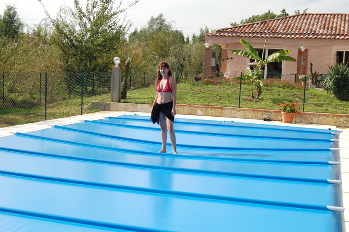 bache piscine ete sur mesure