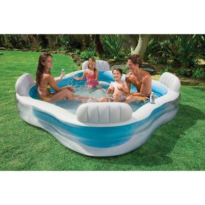 bache piscine familiale intex
