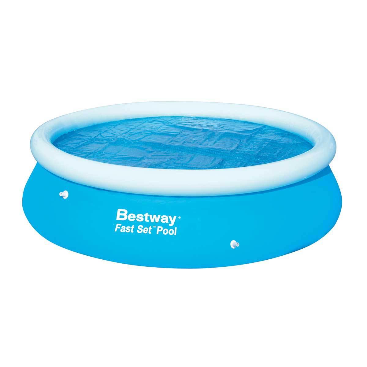 bache piscine fast set