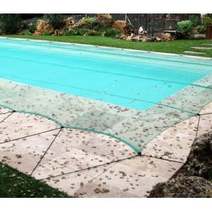 bache piscine filet