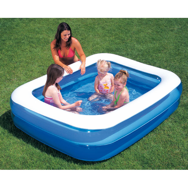 bache piscine gonflable rectangulaire