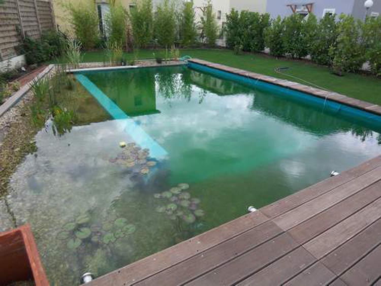 bache piscine grise