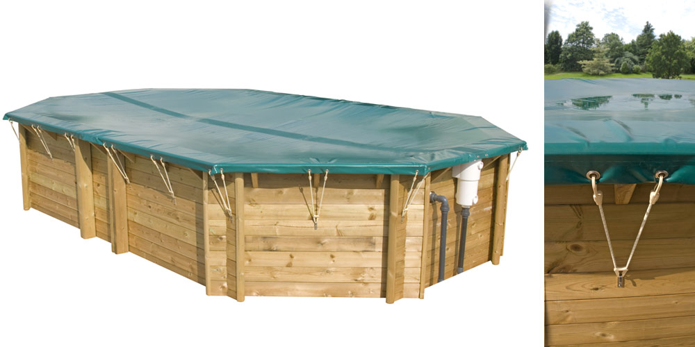 Bache piscine hors sol bois - Bache d hiver pour piscine hors sol ...