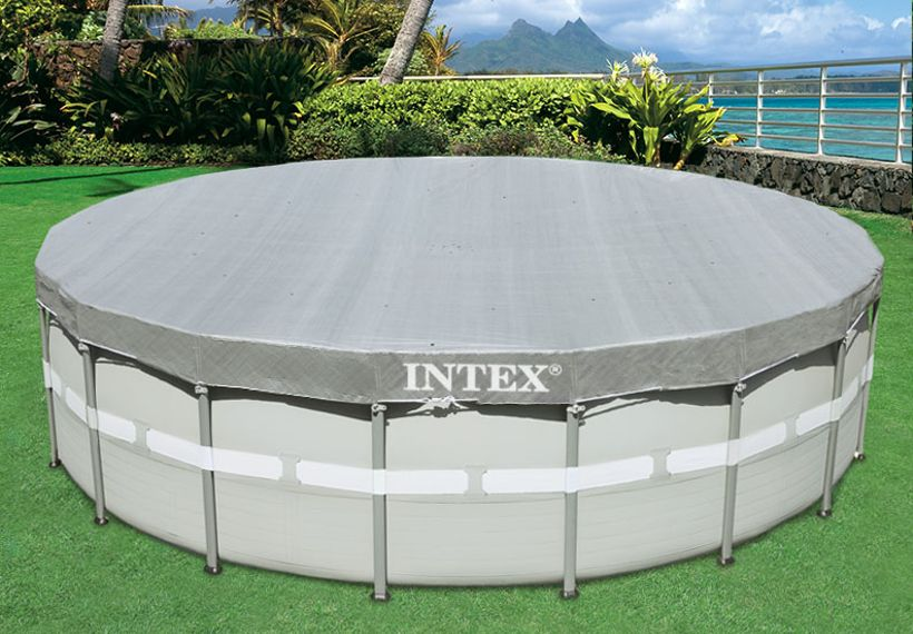 bache piscine intex 4.88