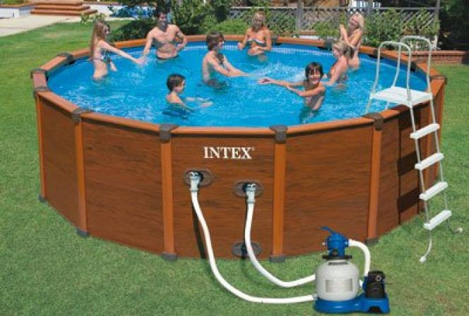 bache piscine intex 5 08