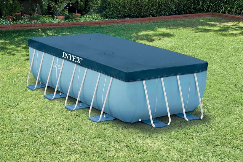 bache piscine intex rectangulaire 4.50
