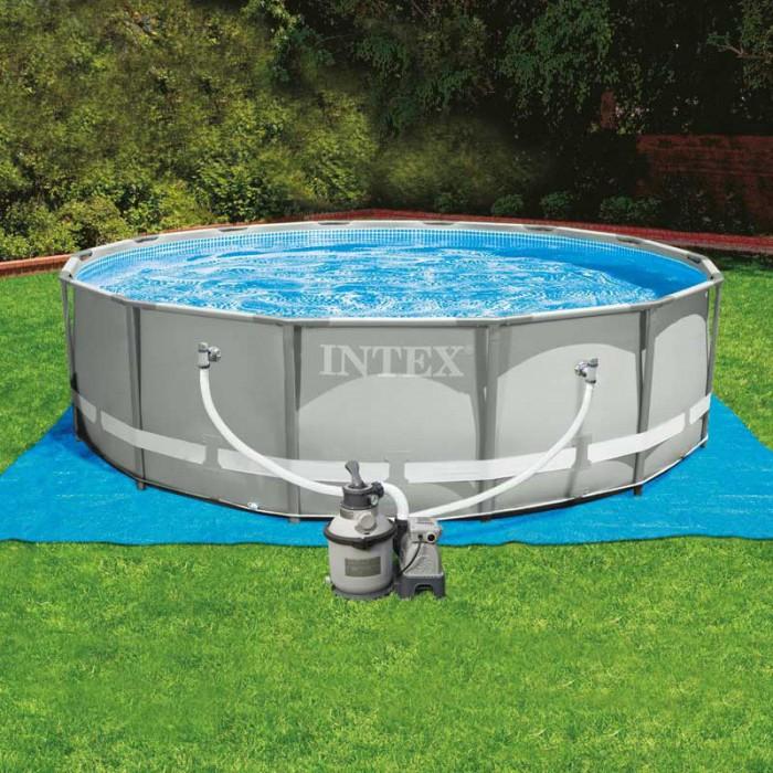 bache piscine intex ultra frame