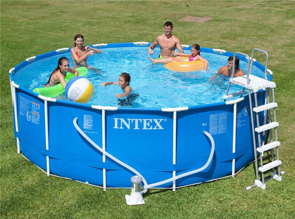 Bache piscine intex ultra frame - Bache hivernage piscine intex ...