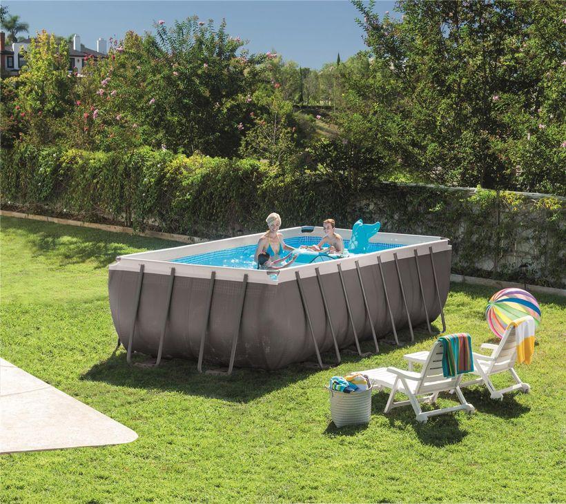 bache piscine intex ultra silver