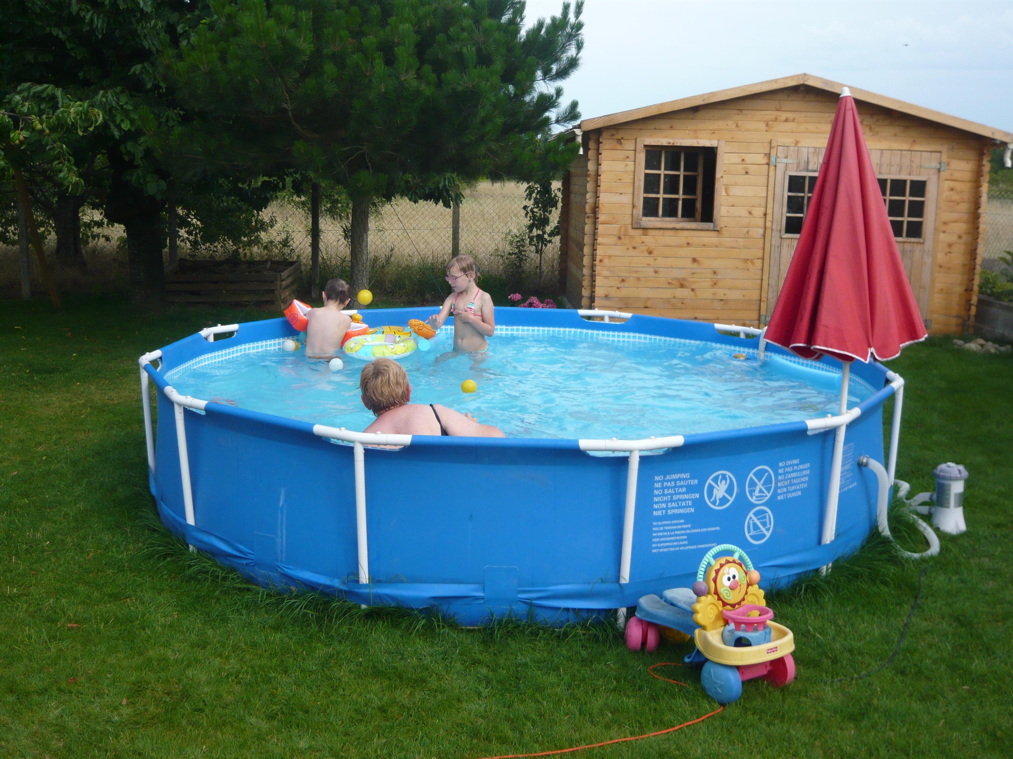 bache piscine leclerc