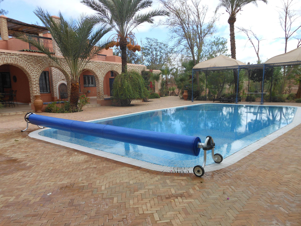 bache piscine marrakech