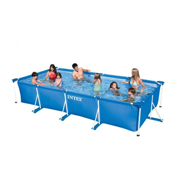 bache piscine metal frame junior