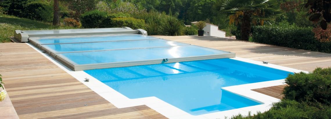 bache piscine motorise