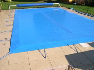 bache piscine nf