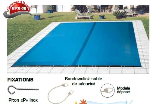 bache piscine nimes