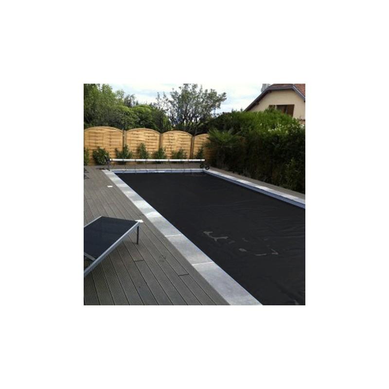 bache piscine noire