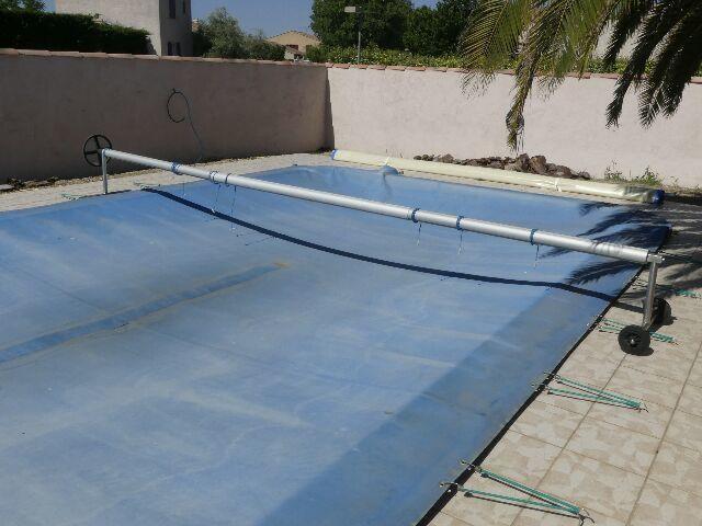 bache piscine occasion