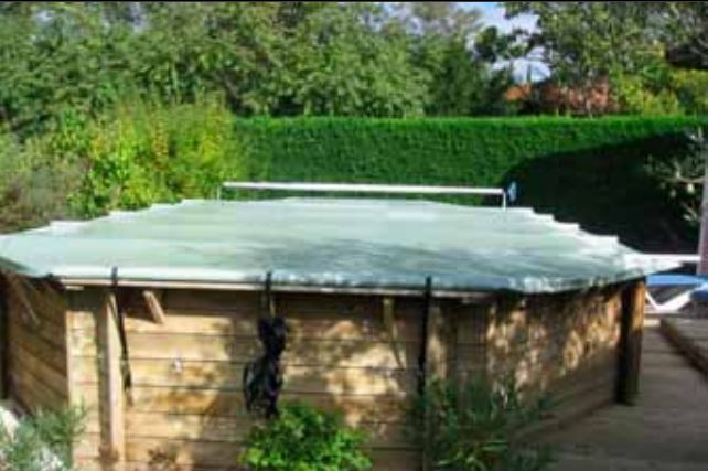 bache piscine octogonale 6x4