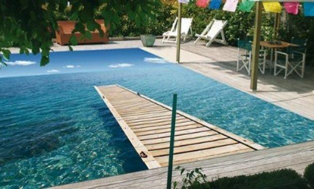 bache piscine octogonale auchan
