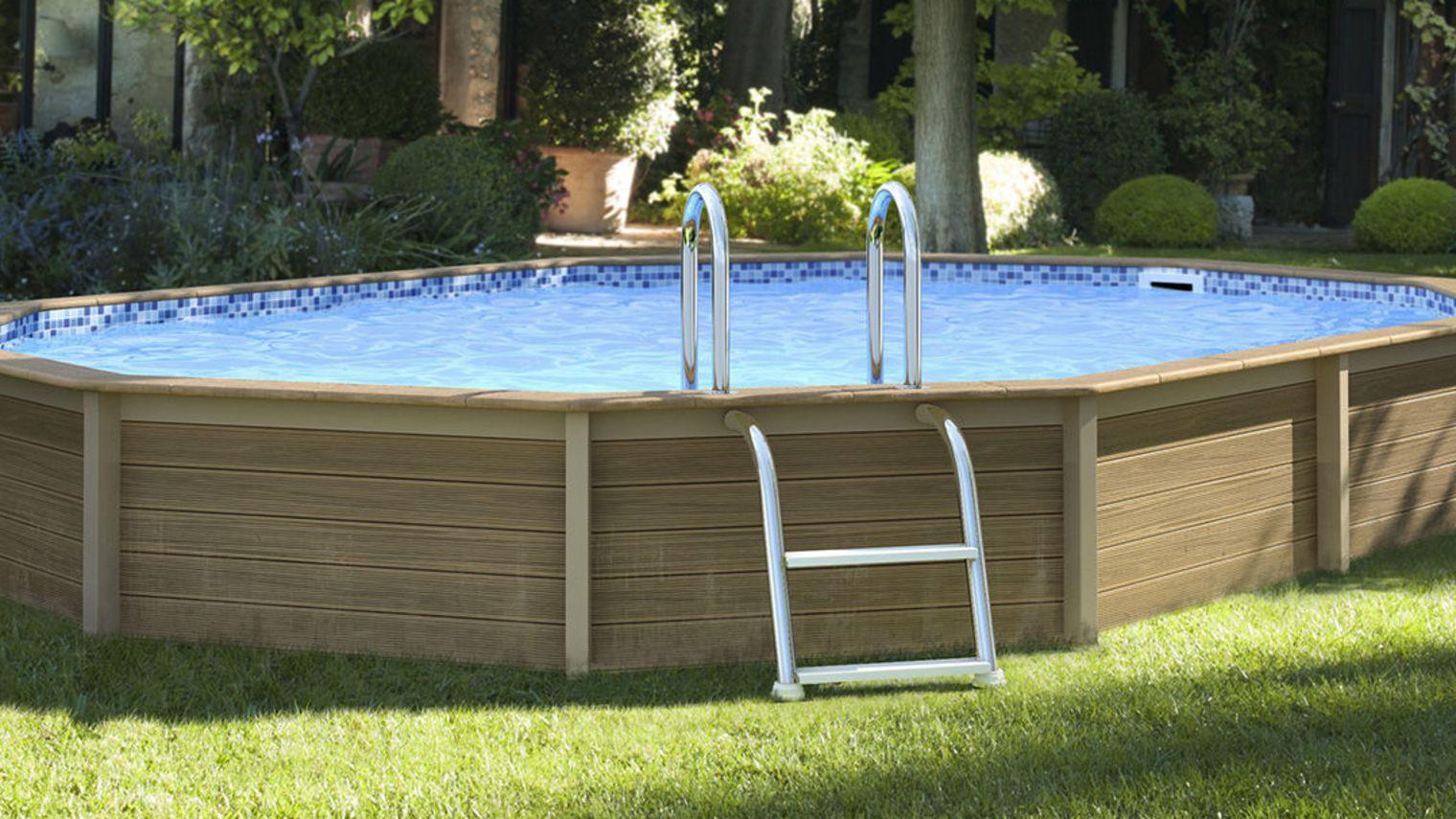 Bache piscine octogonale castorama - Piscine tubulaire castorama ...