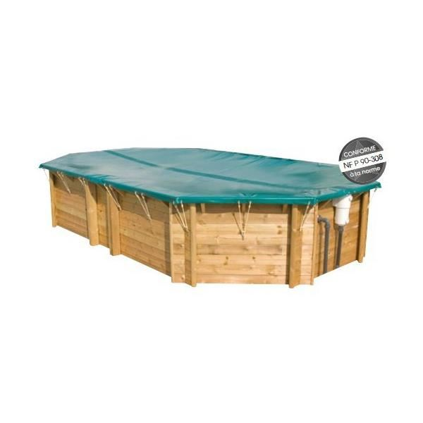 bache piscine octogonale cerland. Black Bedroom Furniture Sets. Home Design Ideas