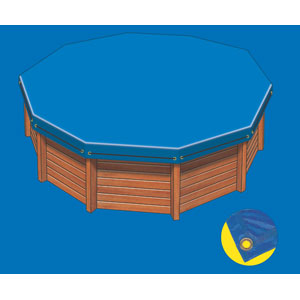 bache piscine octogonale hors sol. Black Bedroom Furniture Sets. Home Design Ideas
