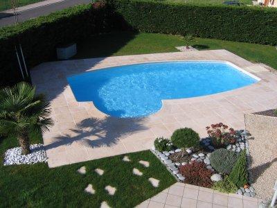 bache piscine ovoide desjoyaux. Black Bedroom Furniture Sets. Home Design Ideas